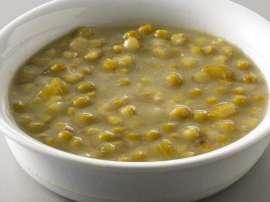 Khuskh Matar Aur Carjet Soup