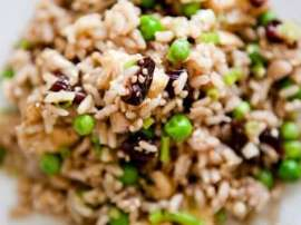 Brown Rice And Walnut Salad