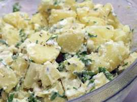 Garlic Potato Salad