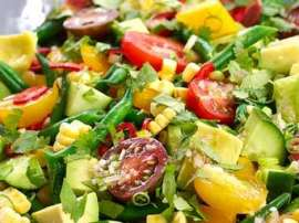 Vegetable Salad Harbas Kay Sath