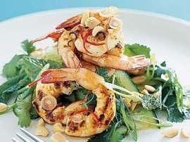 Thai Style Prawns Salad