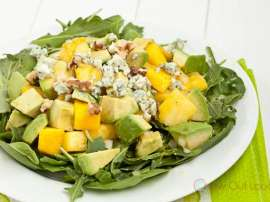 Nashpati Mango And Walnut Salad