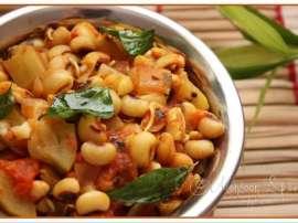 Gobhi Lobia Aur Badam Ka Salad