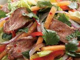 Kharbooza And Hunter Beef Salad