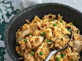 Baked Chicken With Chinese Rice