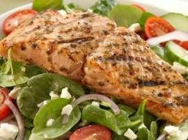 Grilled Fish With Salsa