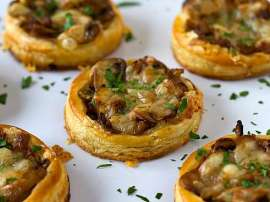 Puff Pastry With Mushroom