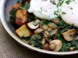 Potato Mushroom Hash