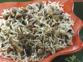 Pulao With Mushroom