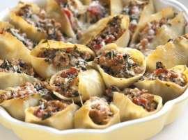Pasta Shells With Mushroom Sauce