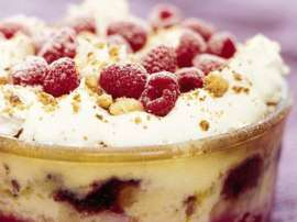 Cake And Jelly Pudding
