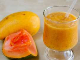 Papaya Creamsicle Smoothie