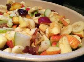 Tasty Fruit Chaat