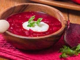 Chukandar Ka Creamy Soup