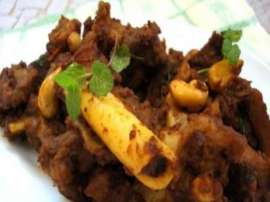 Fried Mutton