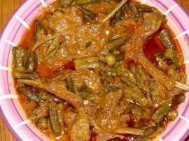 Bhindi Qorma Gosht