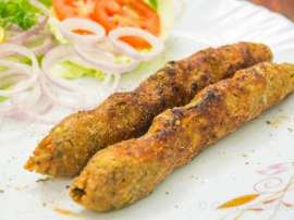 Vegetable Seekh Kabab