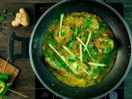 Hara Masala Chicken Karahi