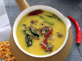 Daal Currey With Coconut