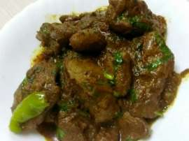 Chicken Liver Handi