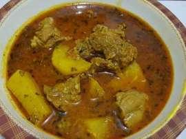 Bemisal Aaloo Gosht Recipe In Urdu