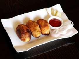 Bread Seekh Kabab