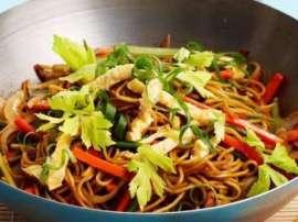 Mashroom Saas Noodles