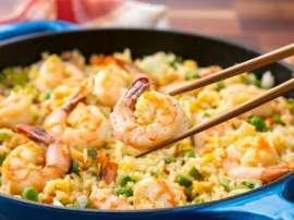 Prawn Chinese Vegetable Rice
