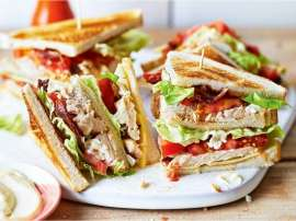 Queen Of Club Sandwich