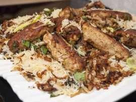 BBQ Seekh Kabab Pulao