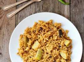 Bhari Hui Looki Ki Biryani Recipe In Urdu