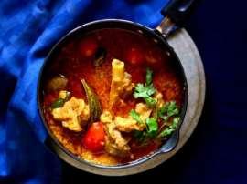 Hyderabadi Mutton Tamatar Ke Sath