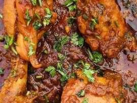 Stir Fry Khara Masala Chicken