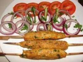 Aaloo K Seekh Kabab