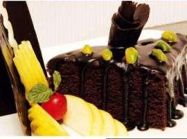 Chocolate Pista Cake