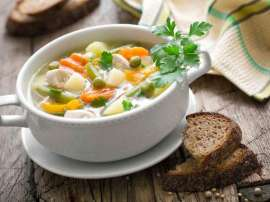 Chicken Mix Vegetable Soup