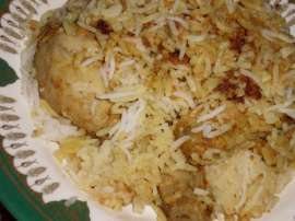 Chicken Tawa Pulao