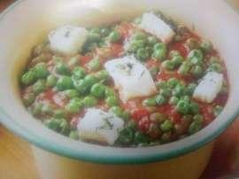 Lebanon Mattar Chees Gravy