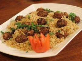 Masoor Pulao With Vegetable Koftay