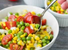 Corn And Peas Salad
