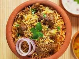 Mutton Handi Biryani