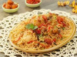 Chicken Bukhari Rice