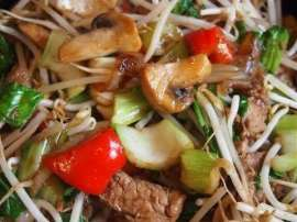 Chicken And Pineapple Chop Suey