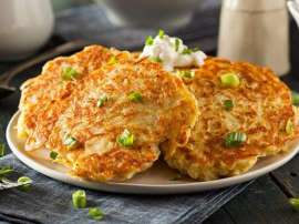 Chicken And Potato Pancakes