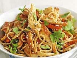 Dry Chicken Noodles