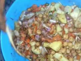 How To Make Chana Chaat Recipe At Home
