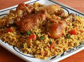 Chicken Golden Rice