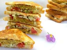 Mini Kabab Sandwich