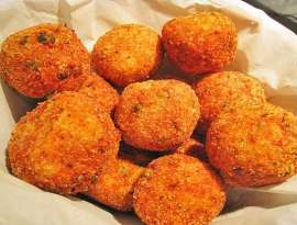 Fish And Bread Balls