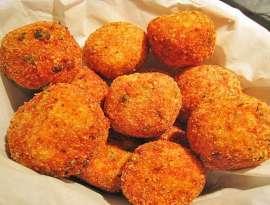 Fish And Bread Balls
